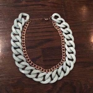 Teal & Gold Baublebar Necklace